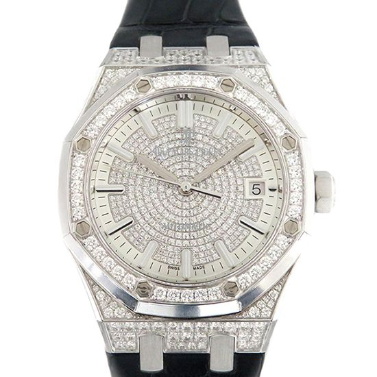 audemarspiguet royaloak AUDEMARS PIGUET Royal Oak Automatic Bezel case diamond 15452bc.zz.d019cr.01