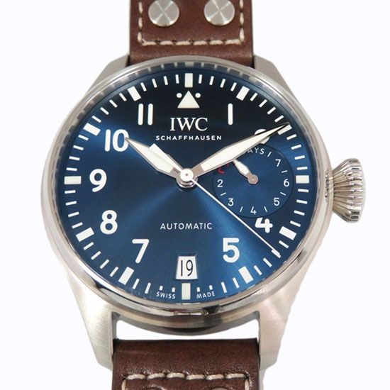 iwc pilotwatch IWC Pilot watch Big pilot watch Petite France iw500916