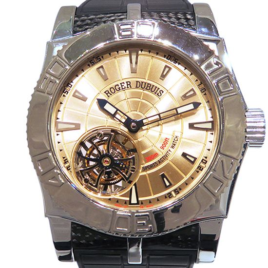 rogerdubuis easydiver ROGER DUBUIS Easy diver Tourbillon Limited to 280 books se48.02.9/0.3.53