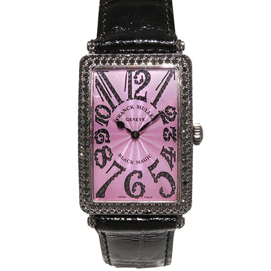 franckmuller Longisland FRANCK MULLER Long Island Black magic Case diamond Limited to 400 books in the world 1000sc d