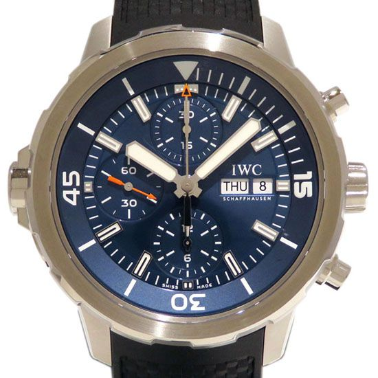 iwc aquatimer IWC Aqua timer Chronograph Expedition Jack-Yves Cousteau iw376805