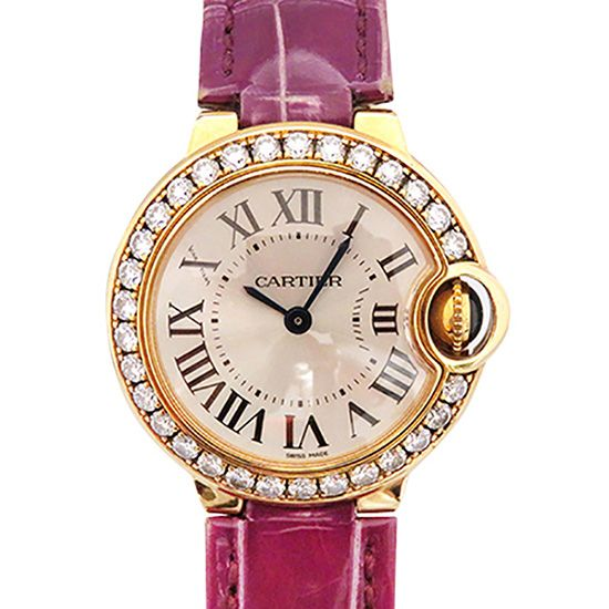 cartier ballonbleu Cartier Ballon Bleu Bezel diamond we900251