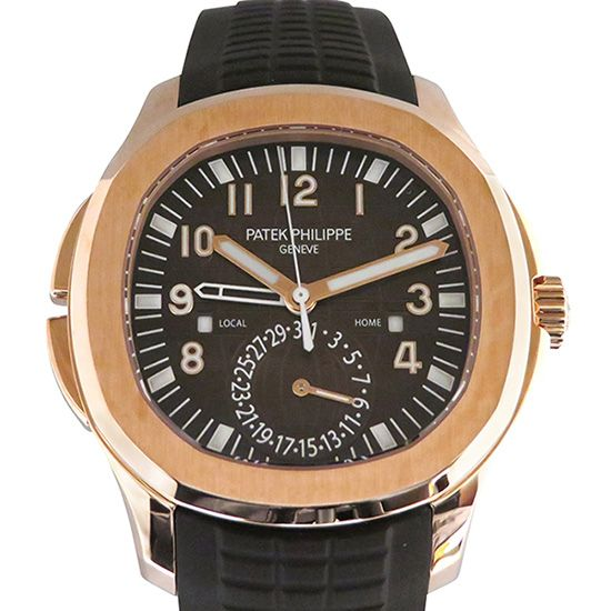 patekphilippe aquanaut PATEK PHILIPPE Aqua note Travel time 5164r-001