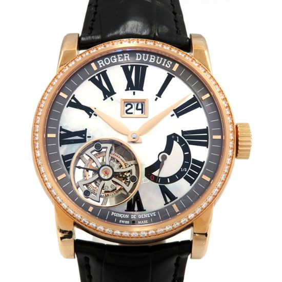 rogerdubuis other ROGER DUBUIS Tribute Flying tourbillon Large date rddbho0561