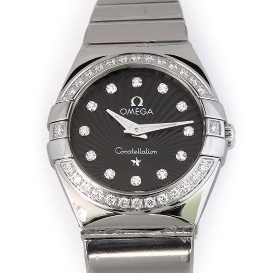 omega constellation OMEGA Constellation Polished quartz 123.10.24.60.51.002