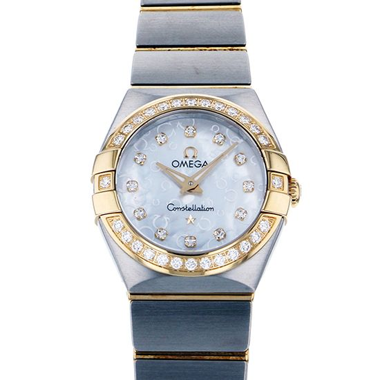 omega constellation OMEGA Constellation Brush Quartz 123.25.24.60.55.010