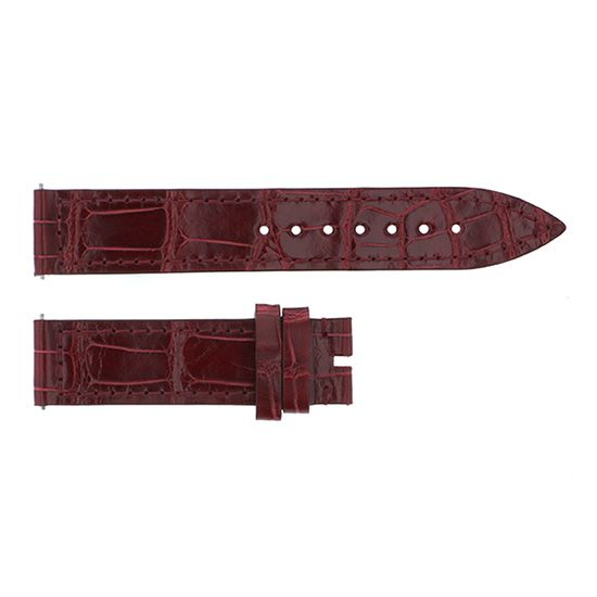 strap franckmuller Genuine strap Frank Muller For 900/902 Bordeaux Croco -