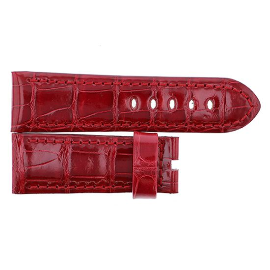 strap panerai Genuine strap PANERAI For 44mmA buckle Red -