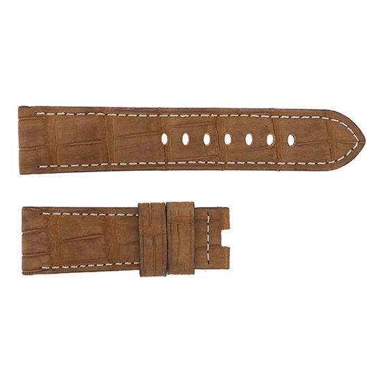 strap panerai Genuine strap PANERAI For 44mm Nubuck gold -