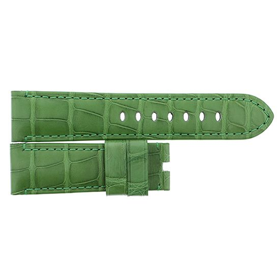 strap panerai Genuine strap PANERAI For 40mmD buckle Light green -