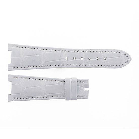strap patekphilippe Genuine strap Patek Philippe For Nautilus White gloss -