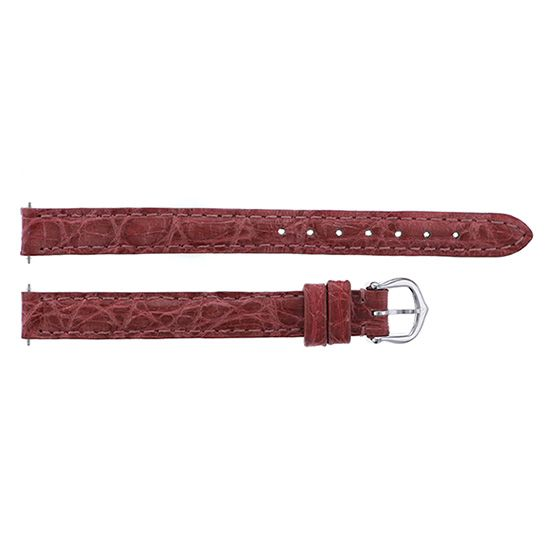 strap cartier Genuine strap Cartier For mini venevar Pink croco WG buckle -