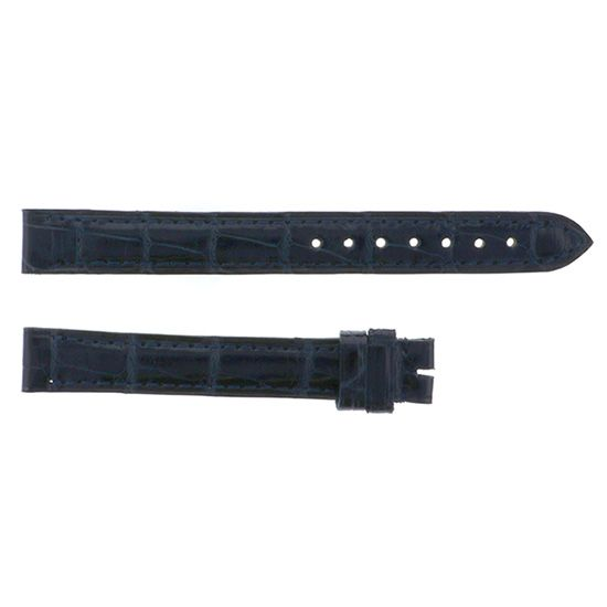 strap cartier Genuine strap Cartier For love watch Black croco -