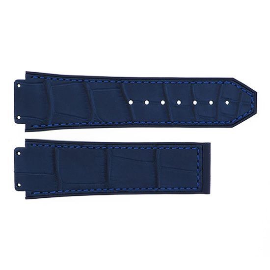strap hublot Genuine strap HUBLOT Classic fusion For 521 Navy alligator rubber -