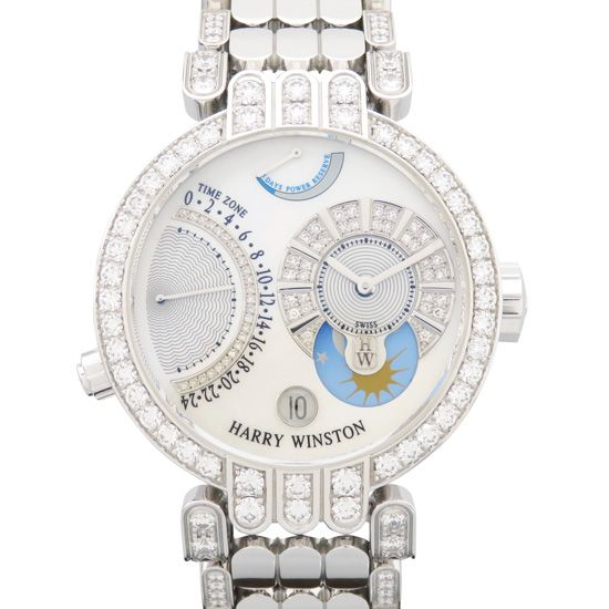 harrywinston premiere HARRY WINSTON Premiere Ex Center Time zone premtz39ww013