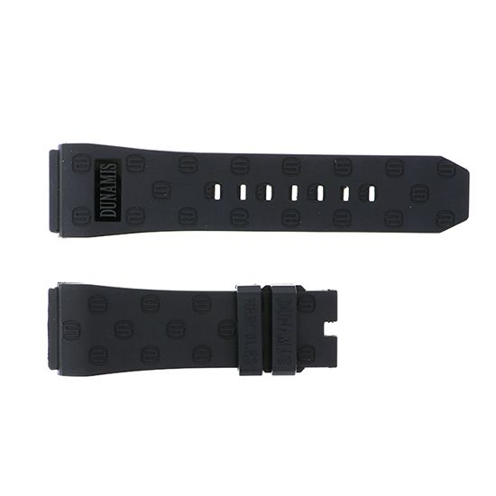 strap dunamis Genuine strap Dynamis Black rubber for Hercules -