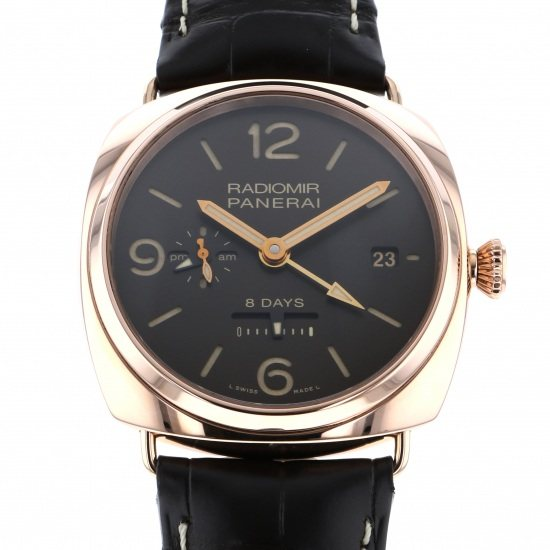 panerai radiomir PANERAI Radio meal 8 Days GMT Ororosso 500 books in the world pam00395