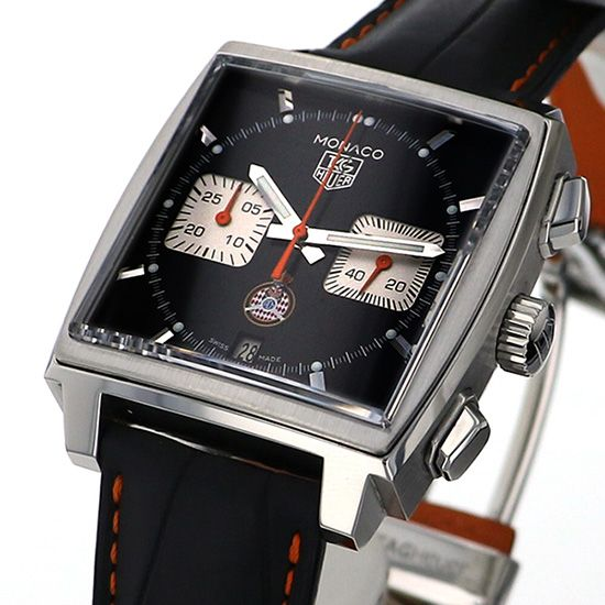 tagheuer monaco TAG HEUER Monaco Chronograph Limited to 1200 books in the world caw211k