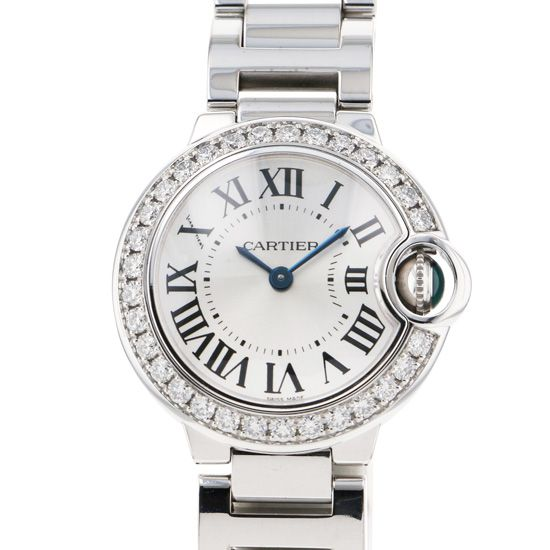 cartier ballonbleu Cartier Ballon Bleu Bezel diamond we9003z3