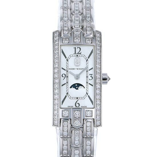 harrywinston avenue HARRY WINSTON Avenue C mini Moon phase avcqmp16ww003