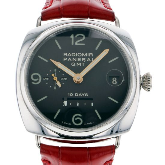 panerai radiomir PANERAI Radio meal 10 days GMT 50 books limited to the world pam00274