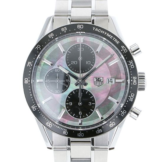 tagheuer career TAG HEUER Carrera Chronograph Black pearl Limited to 600 in Japan cv201k.ba0794
