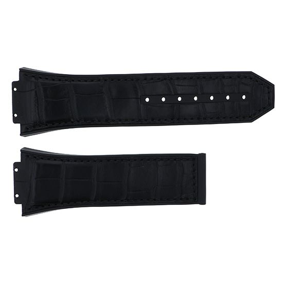 strap hublot Genuine strap HUBLOT For Spirit of Big Bang Black alligator -