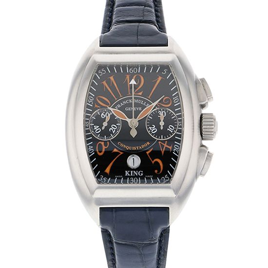 franckmuller conqueror FRANCK MULLER Conquistador King Chronograph Sunrise World Limited 100 8005cc king sunrise