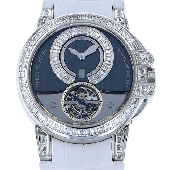 harrywinston ocean HARRY WINSTON Ocean Tourbillon 15 books limited to the world 400/mat44w