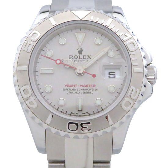 new product 98dcb 791fe ロレックス ヨットマスター レディース(中古) | 腕時計の通販 ...