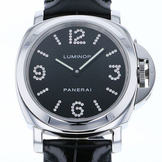 panerai luminor PANERAI Luminor base Diamond collection World Limited 100 pam00130