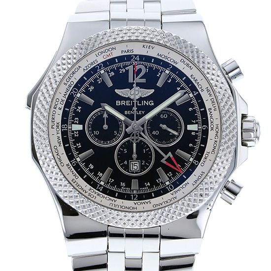 breitling bentley BREITLING Bentley GMT a476b19sgs
