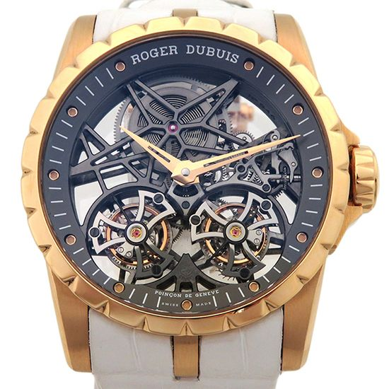 rogerdubuis excalibur ROGER DUBUIS Excalibur Double flying tourbillon skeleton rddbex0395