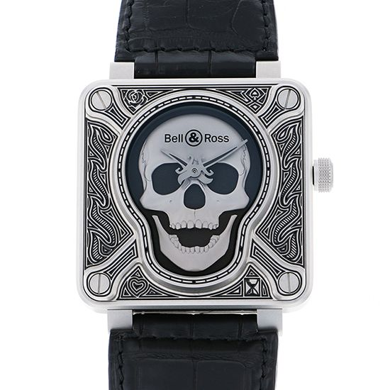 bellross other Bell & Ross BR01-92BURNING SKULL 500 books limited br01-92-skull-burn