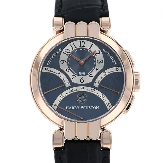 harrywinston premiere HARRY WINSTON Premiere Ex Center Bird retro Chronograph 200/mcra39r