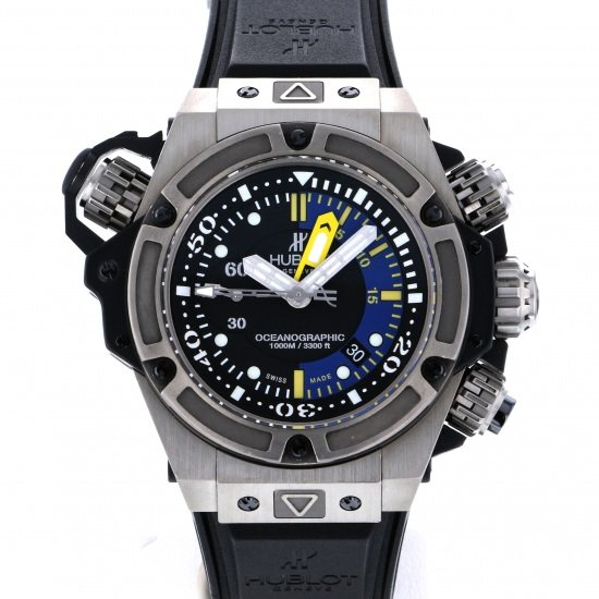 hublot kingpower HUBLOT King power Oceanographic 1000 Titanium Limited to 1000 copies in the world 732.nx.1127.rx