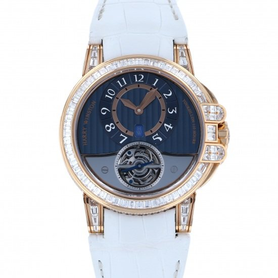 harrywinston ocean HARRY WINSTON Ocean Tourbillon Bezel bucket diamond 10 books in the world oceato44rr009