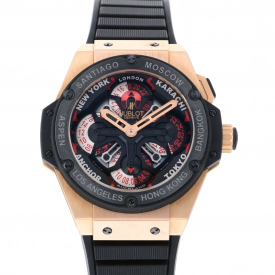 hublot kingpower HUBLOT King power Unico GMT King Gold 771.om.1170.rx