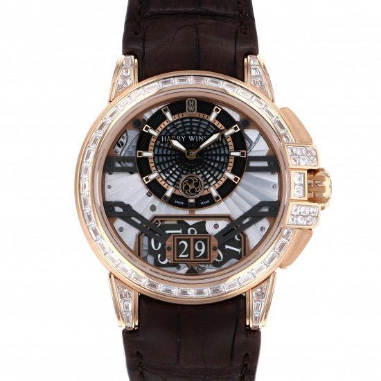harrywinston ocean HARRY WINSTON Ocean Big date Automatic Limited to 20 pieces worldwide oceabd42rr002