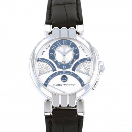 harrywinston premiere HARRY WINSTON Premiere Ex Center Bird retro Chronograph 200/mcra39w