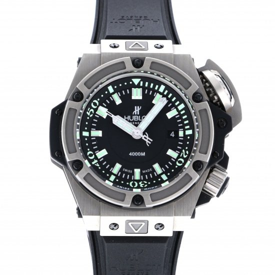 hublot kingpower HUBLOT King power Oceanographic 4000 Titanium Limited 731.nx.1190.rx