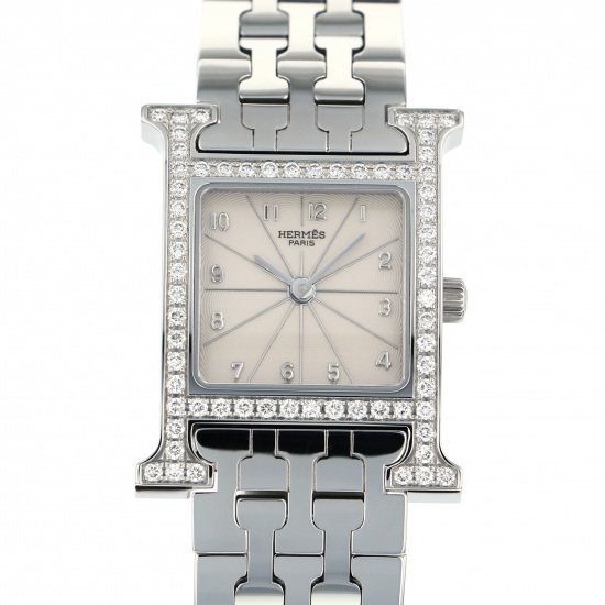 hermes other Hermes H watch Case diamond hh1.230