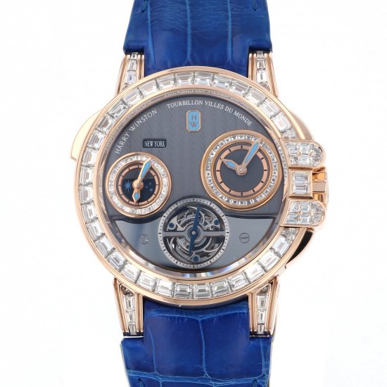 harrywinston ocean HARRY WINSTON Ocean Tourbillon 10 books in the world 400/mattz45r