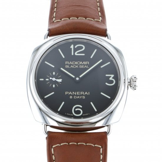 panerai radiomir PANERAI Radio meal Black seal 8 Days Acciaio pam00609