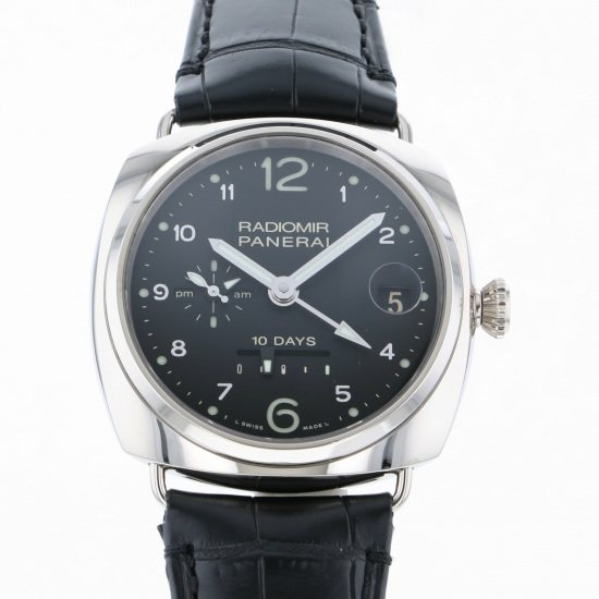 panerai radiomir PANERAI Radio meal 10 days GMT Orobianco 250 limited editions pam00496