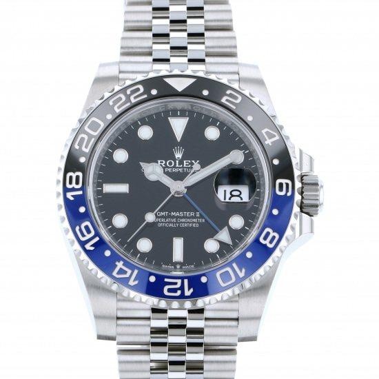 ロレックス GMTマスター II 126710BLNR