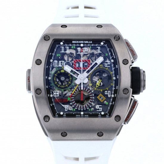 richardmille other Richard Mille Automatic Flyback chronograph Dual time rm11-02