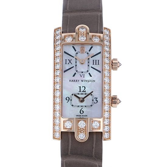harrywinston avenue HARRY WINSTON Avenue C Dual time avcqtz19rr001