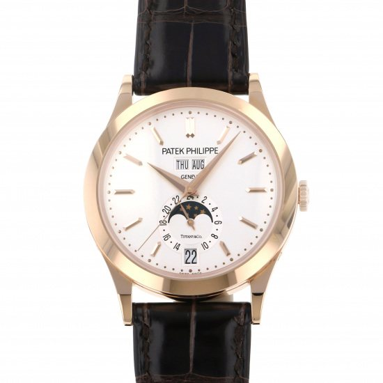 patekphilippe annualcalendar PATEK PHILIPPE Annual calendar Tiffany Collaboration model 5396r-011