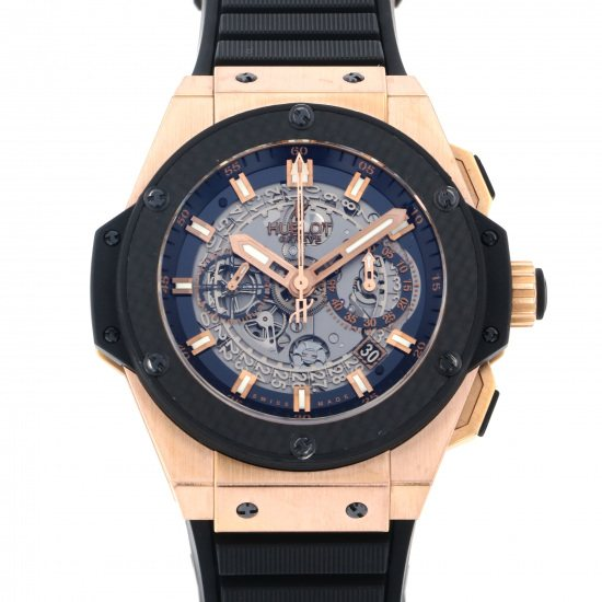 hublot kingpower HUBLOT King power Unico King Gold carbon 701.oq.0180.rx